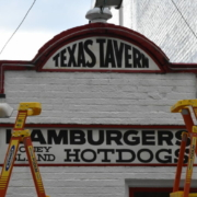 Texas Tavern sign