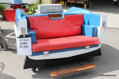 Chris Craft Boat Bench