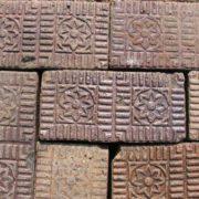Nelsonville Brick Company Salt Glazed Flower Star Brick