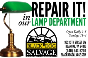 Lamp Repair in Roanoke Virginia