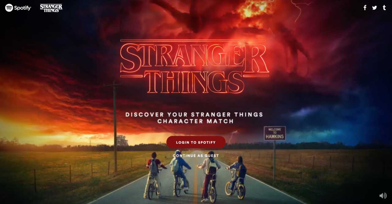 Spotify's Playlists for every 'Stranger Things' Character