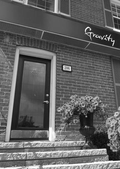 Gravity Hair Salon Barrie Building Entrance