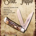 Tuna Valley Cutlery Gallery - 2009 Scout Trapper - Burnt Stag
