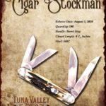 Tuna Valley Cutlery Gallery - 2010 Cigar Stockman - Burnt Stag