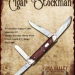 Tuna Valley Cutlery Gallery - 2010 Cigar Stockman - Brazilian Cherry
