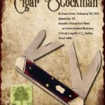 Tuna Valley Cutlery Gallery - 2012 Cigar Stockman - Redbone with Dimpled Bolsters