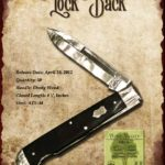 Tuna Valley Cutlery Gallery - 2012 Lockback - Ebony Wood