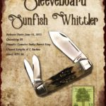 Tuna Valley Cutlery Gallery - 2012 Sleeveboard Sunfish - Burnt Stag