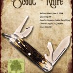 Tuna Valley Cutlery Gallery - 2014 Scout - Burnt Stag