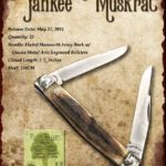 Tuna Valley Cutlery Gallery - 2015 Yankee Muskrat - Mammoth Ivory