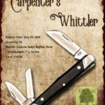 Tuna Valley Cutlery Gallery - 2016 Carpenter's Whittler - Buffalo Horn