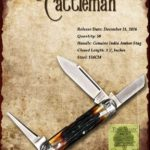 Tuna Valley Cutlery Gallery - 2016 Cattleman - Amber Stag