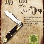 Tuna Valley Cutlery Gallery - 2016 Teardrop - Burnt Stag
