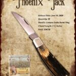 2020 Tuna Valley Phoenix Jack Burnt Stag 154CM Steel