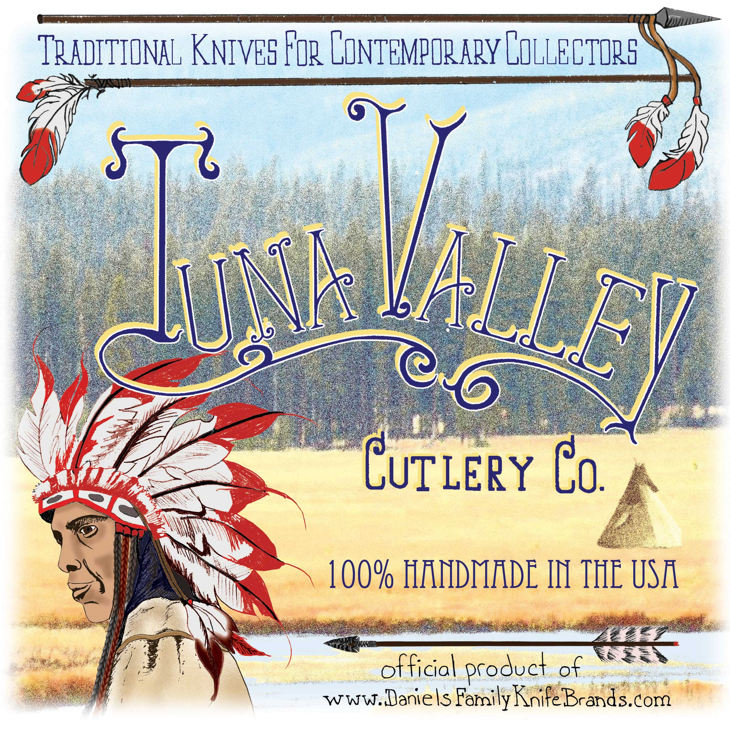 Tuna Valley tube label