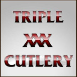 Triple XXX Cutlery Dealer Logo