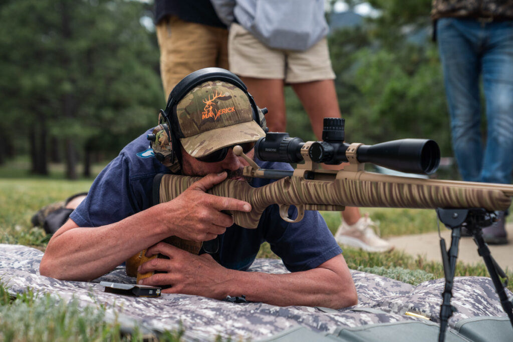 Long-Range Rifle Shooting - Small caliber rifles available for close range target practice at 25, 50 and 100 yards. Larger caliber rifles available for long distance shooting 200 to 800 yards.