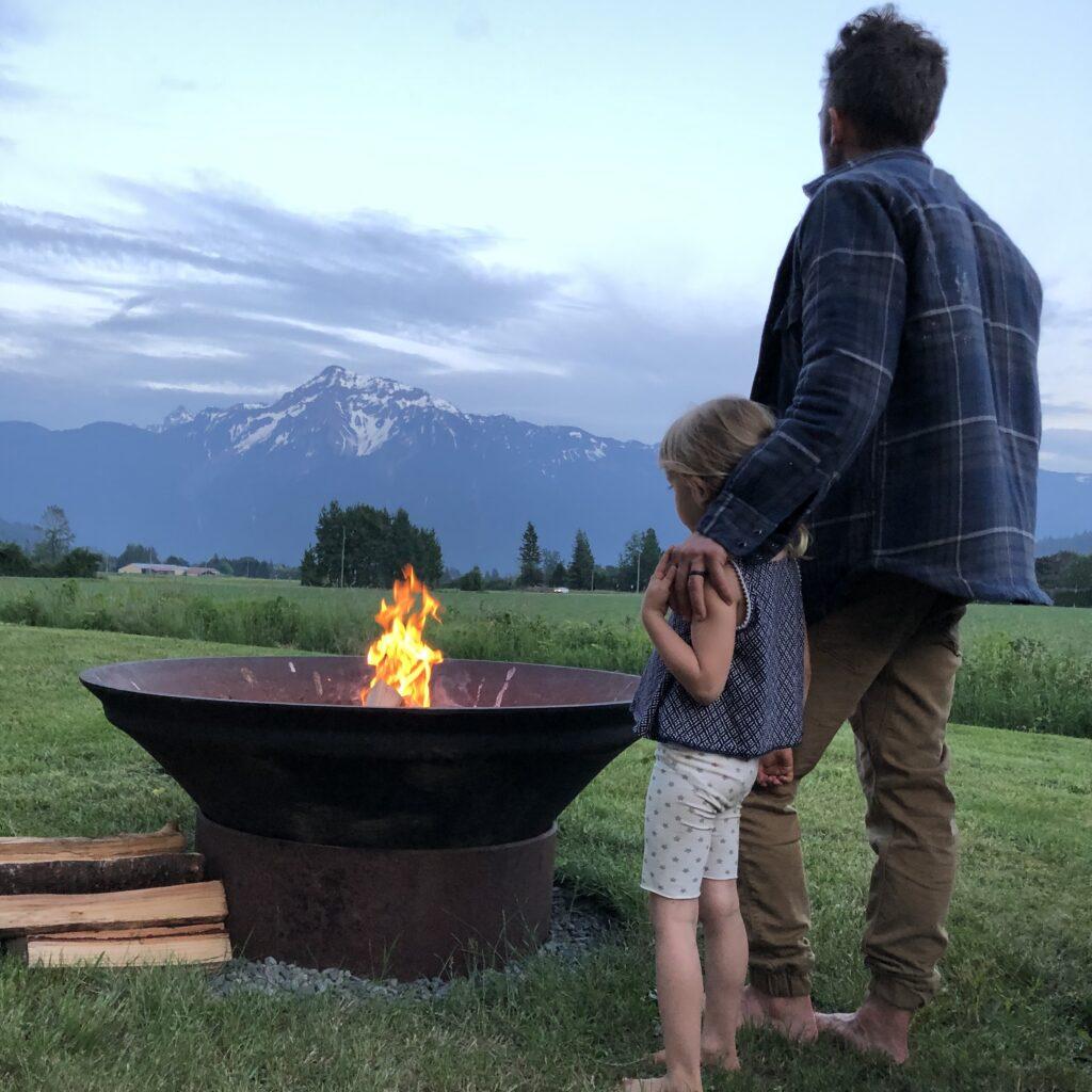 campfire, fire, bbq