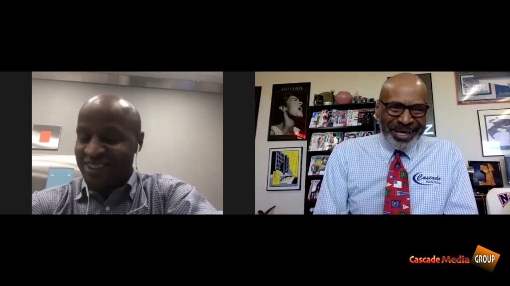 Conversation With Cascade Media Group Founder Carlos Nelson Sr  Discussing 2020 Election With Terry Riley President At Transformation Consultants, Inc