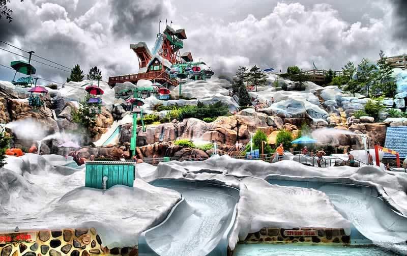 parque disney aquático Blizzard Beach toboágua