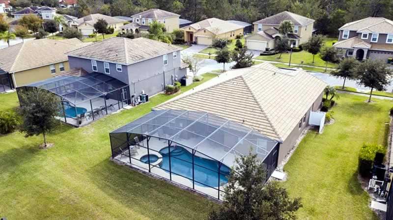 casa de aluguel com piscina da stays orlando em condomínio fechado hospedagem