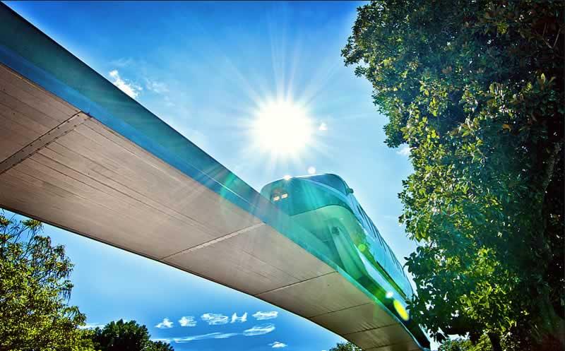 trem dos parques da disney world em orlando