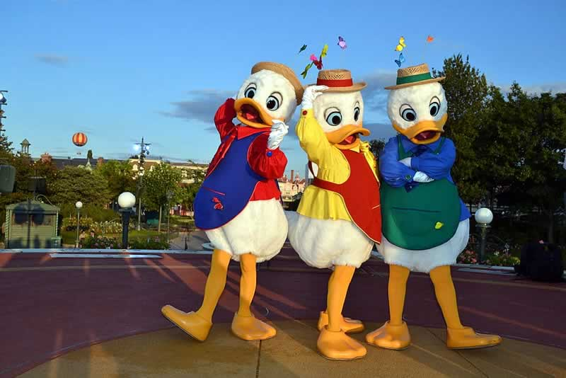 Personagens da turma do mickey na Disney World Orlando