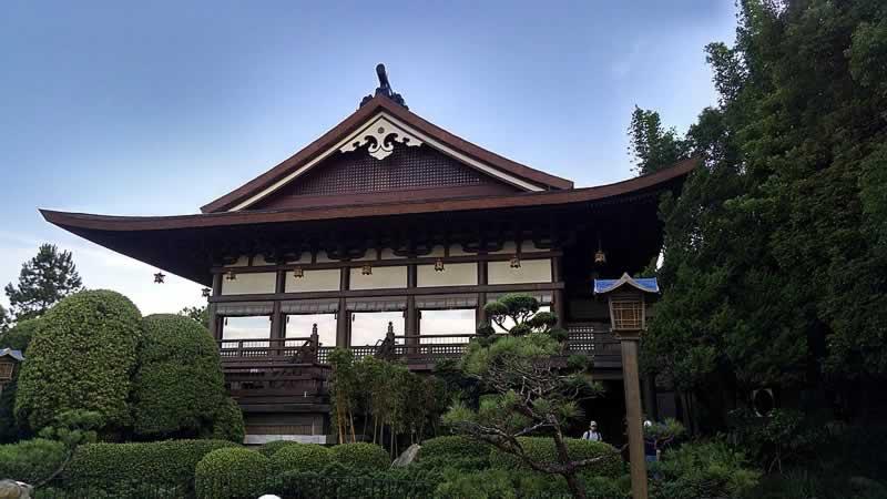 arquitetura do pavilhão do japão no epcot