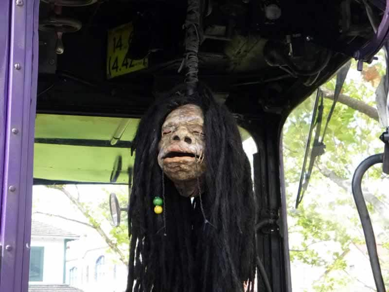 cabeça falante ônibus harry potter universal studios