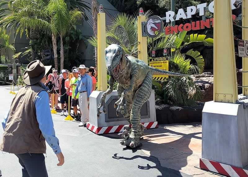 raptor encounter universal islands of adventure