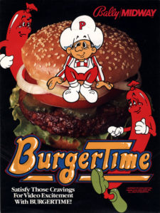 burgertime game graphic