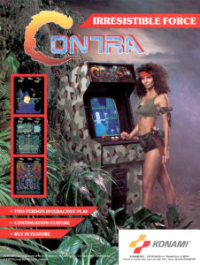 contra game graphic