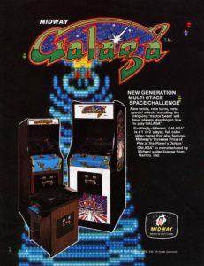 Galaga game graphic