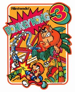 DONKEY KONG 3 game graphic