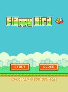 FLAPPY-BIRD game graphic