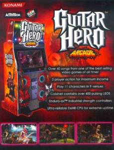GUITAR-HERO-ARCADE game graphic