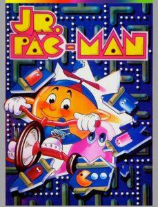 JR-PAC-MAN game graphic