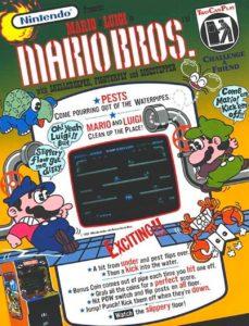 MARIO-BROS game graphic
