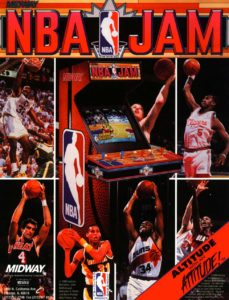 NBA-JAM-arcade-flyer game graphic