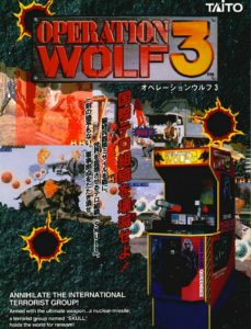 Operation-Wolf-arcade-flyer game graphic