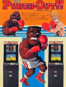 PUNCH-OUT-arcade-flyer game graphic