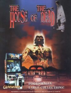 The-House-of-the-Dead-arcade-flyer game graphic