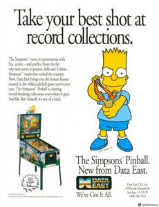 The Simpsons pinball