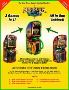 big-buck-world-arcade game graphic