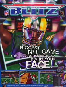 NFL Blitz 2000 - Gold Edition
