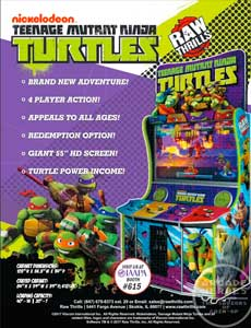 Teenage Mutant Ninja Turtles Raw Thrills