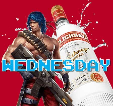 Wednesday Stoli special