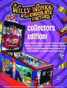 Willy Wonka Pinball