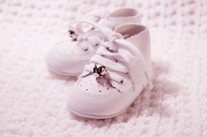 Save baby's shoes