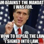 Romney runs against the policies he implemented.